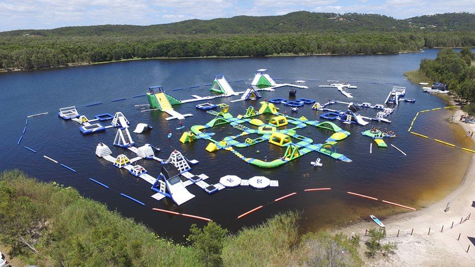 Thrilling Water Fun at BLAST Aqua Park Coolum!