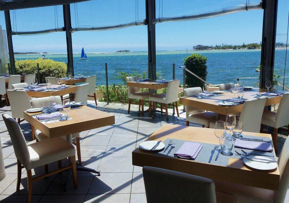Enjoy gourmet meals at Arnica Waterfront Restaurant
