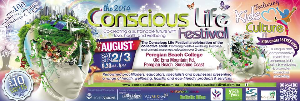 Celebrate a healthy life at the Conscious Life Festival