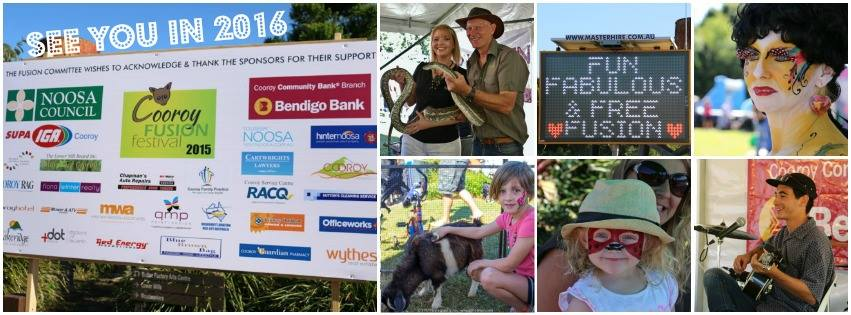 Everything You Love About Noosa at Cooroy Fusion Festival