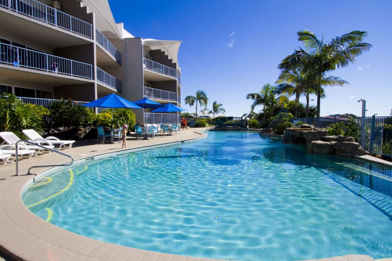 What is the perfect child-friendly accommodation on the Sunshine Coast?