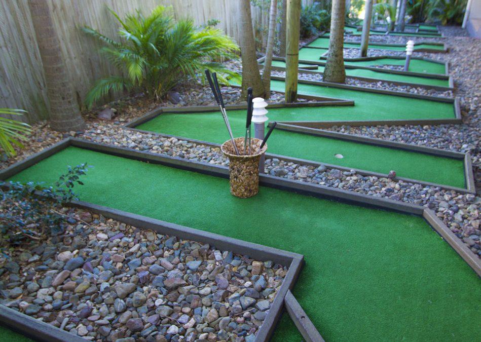 Enjoy Mini Golf at Our Coolum Beach Resort