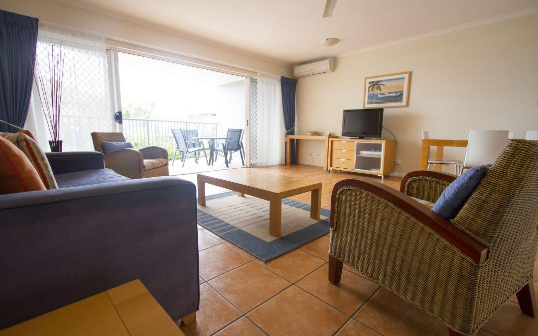 Stylish 2-bedroom apartments at Endless Summer Resort